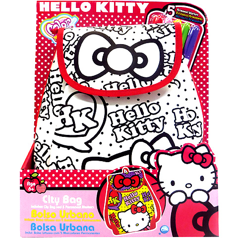 Color Me Mine Hello Kitty színezhetõ hátizsák