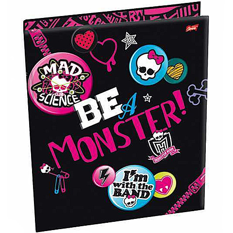 Monster High gyûrûs mappa A4